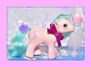 My-Little-Pony-MLP-G1-Vtg-Beddy-Bye-Eye-BBE-BABY-School-of-Dance-Half-Note