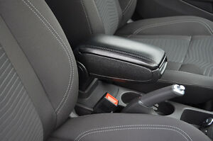 centre console arm rest armrest box black for ford fiesta 2008 ebay. Black Bedroom Furniture Sets. Home Design Ideas