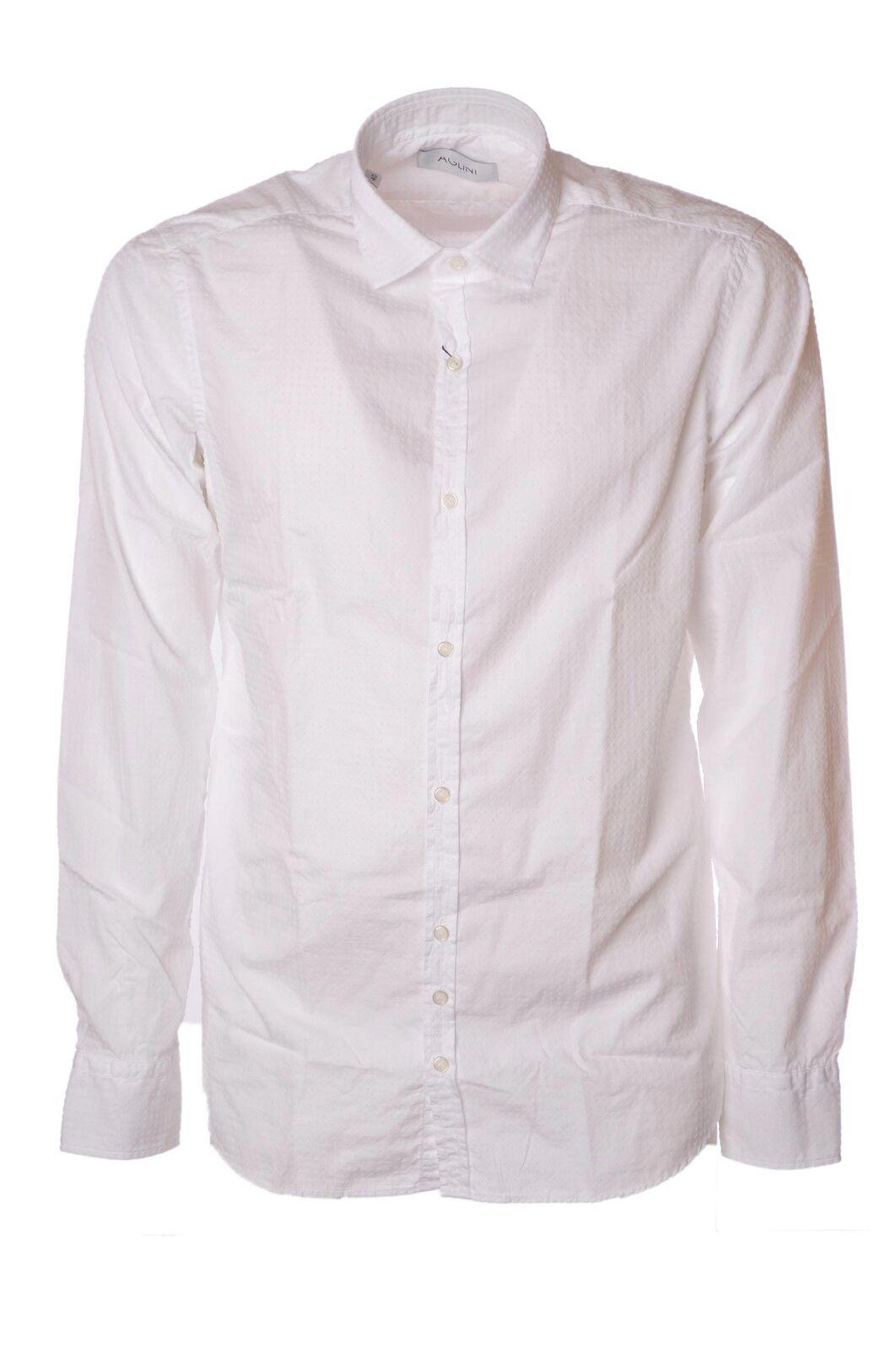 Aglini - Shirts-Shirt - Man - Weiß - 4331410C184202