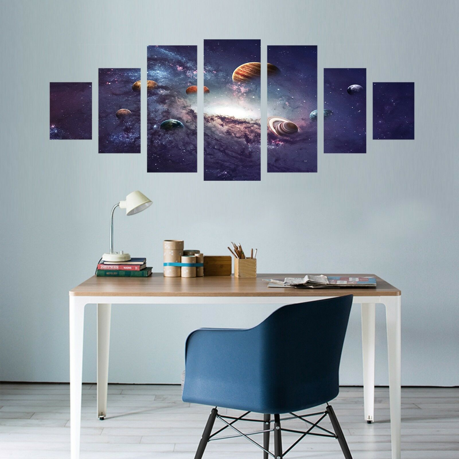 3D Planet  847 Unframed Print Wall Paper Decal Wall Deco Indoor AJ Wall Jenny