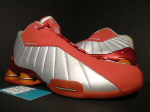 reputable site 78366 735ba Image is loading 2001-NIKE-SHOX-BB4-VINCE-CARTER-VC-ALL-