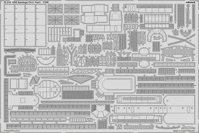 Eduard 1//350 USS Saratoga CV-3 pt.20 Photo-etched Detail set for Trumpeter kits