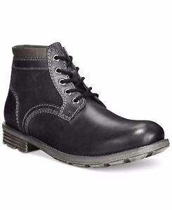 Leather Up Mid Black Tamaño Unido Boots Clarks Darian 8 hombres Reino para Lace de gXfqxt