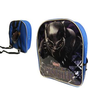 Marvel Black Panther Sac à dos Sac à Dos Junior École Sac & Poche Latérale 8353