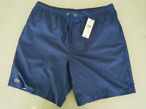 Lacoste-Mens-2019-Sport-Taffeta-Comfortable-Drawstring-Fully-Lined-Tennis-Shorts