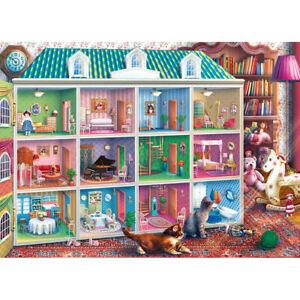 1000-Piece-Sophia-039-s-Dollhouse-Toys-Jigsaw-Puzzle-Relaxing-Fun-Family-Activity