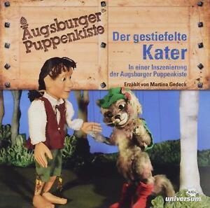 AUGSBURGER-PUPPENKISTE-DER-GESTIEFELTE-KATER-HORSPIEL-CD-NEU