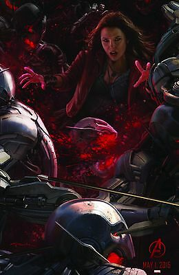 Avengers 2 Age of Ultron 24x36 Movie Poster 2015 - Iron Man Comic Con