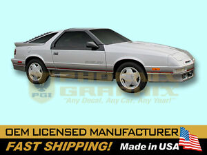 1989-Dodge-Daytona-Shelby-Decals-Stripes-Kit