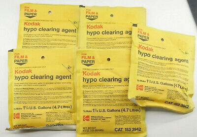 Makes 5 gal. Hypo Clearing Agent