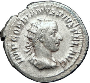 GORDIAN-III-244AD-Rome-Ancient-Genuine-Silver-Roman-Coin-SECURITY-i73262