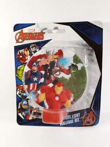 Avengers-Led-Night-Light-The-Hulk-Iron-Man-Captain-America-Thor-Rotary-Shade
