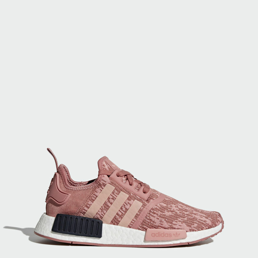 Adidas NMD R1 - Raw Pink / Trace Pink / Legend Ink BY9648 - Womens 7.5
