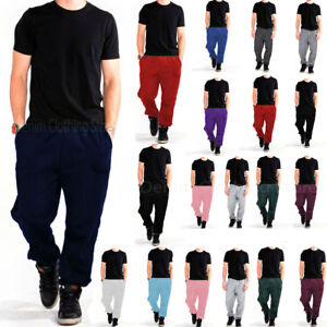 4c0c45165 Image is loading MEN-WOMEN-UNISEX-SWEATPANTS-FLEECE-WORKOUT-GYM-SPORT-