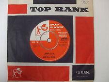 JAR 595 Gary Bonds - School Is In / Trip To The Moon - 1961