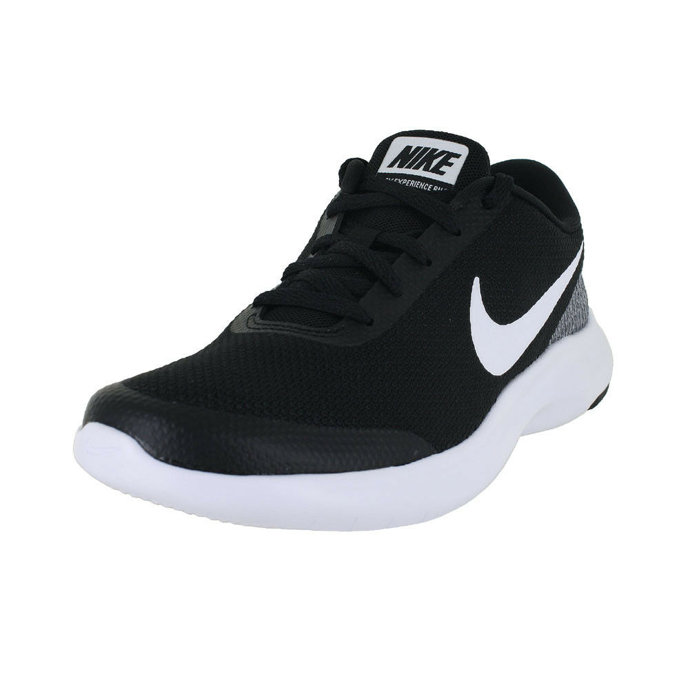 NIKE WMNS WIDE FLEX EXPERIENCE 7 BLACK WHITE WOMENS US SIZES
