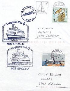 Finnish Bateau De Croisière Ms Apollo 2 Navires En Cache Couvre
