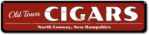 Custom Cigar Personalized Old Town City State Sign Cigars Sign ENSA1001143