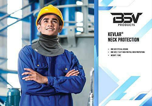 Kevlar Welding Neck Protection-XL-Black Cut,Scratch,Resistant Made with Kevlar