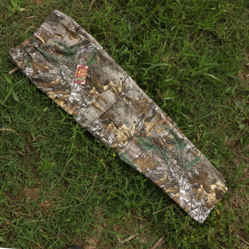 100% Cotton Men's Hunting Camouflage Pants Real Tree Bionic Trousers
