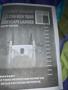 Expandable Fire Escape Ladder Two Story
