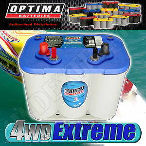 optima blue top battery 12 volt new agm d34m 750cca deep. Black Bedroom Furniture Sets. Home Design Ideas