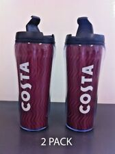 Costa Coffee Travel Mug Tumbler Cup Insulated Thermal Double