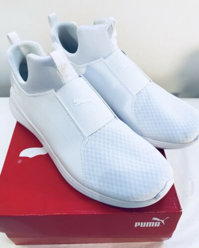 Puma Shoes Women Mid 5 Eu40 Uk6 White Rebel qqAZtrwxz