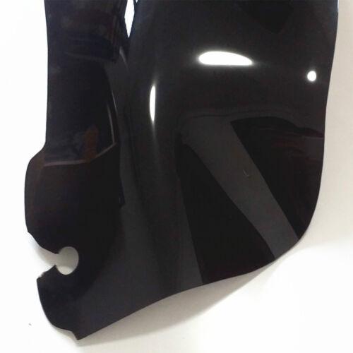 """7/"""" 9/'/' Black Wave Windshields Windscreen For Harley Electra Street Glide 2014-16"""