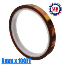 Usa 8mm 3d Sublimation Kapton Tape Heat Resistance Proof Tape For Heat Transfer