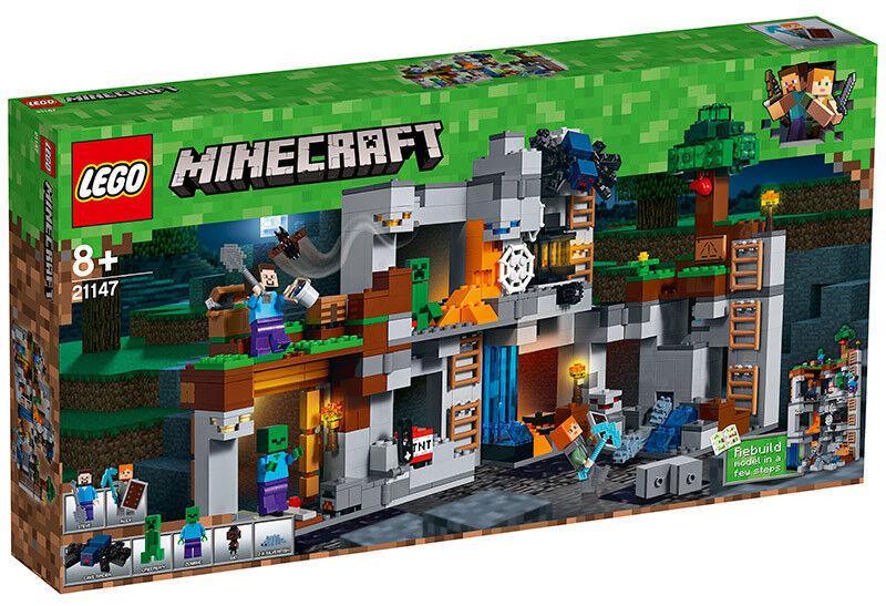 basta comprarlo LEGO Minecraft - Les aventures souterraines - - - 21147 - Jeu de construction LEGO  vendita con alto sconto