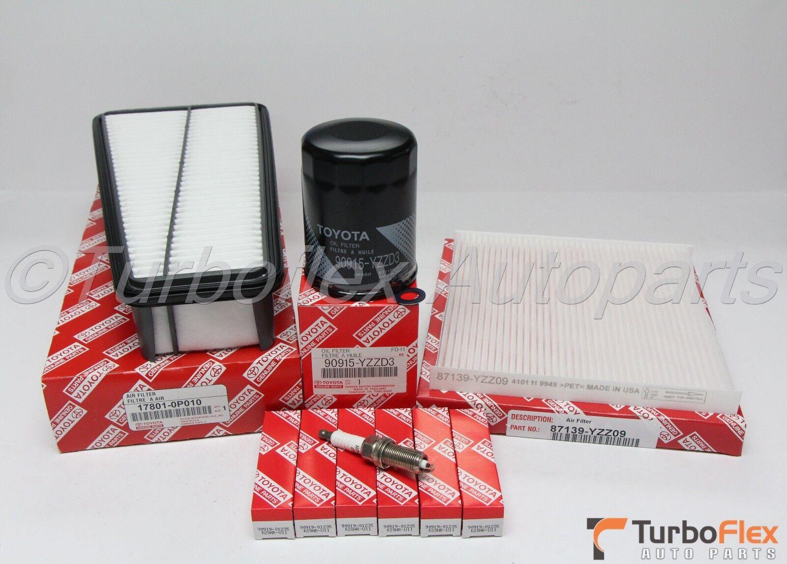 Toyota Tacoma 2006-2015 V6 4.0L Service Tune up Kit Genuine OEM