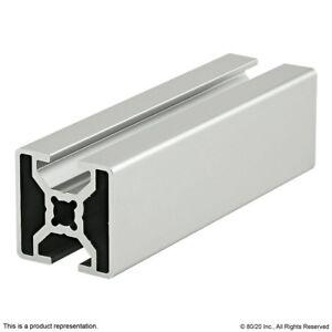 80//20 Inc T-Slot 45mm x 45mm Aluminum Extrusion 45 Series 45-4545 x 1525mm N
