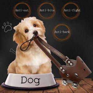 Adjustable-Leather-Dog-Muzzle-Anti-Bark-Bite-Durable-Training-Product-for-Dog-UK