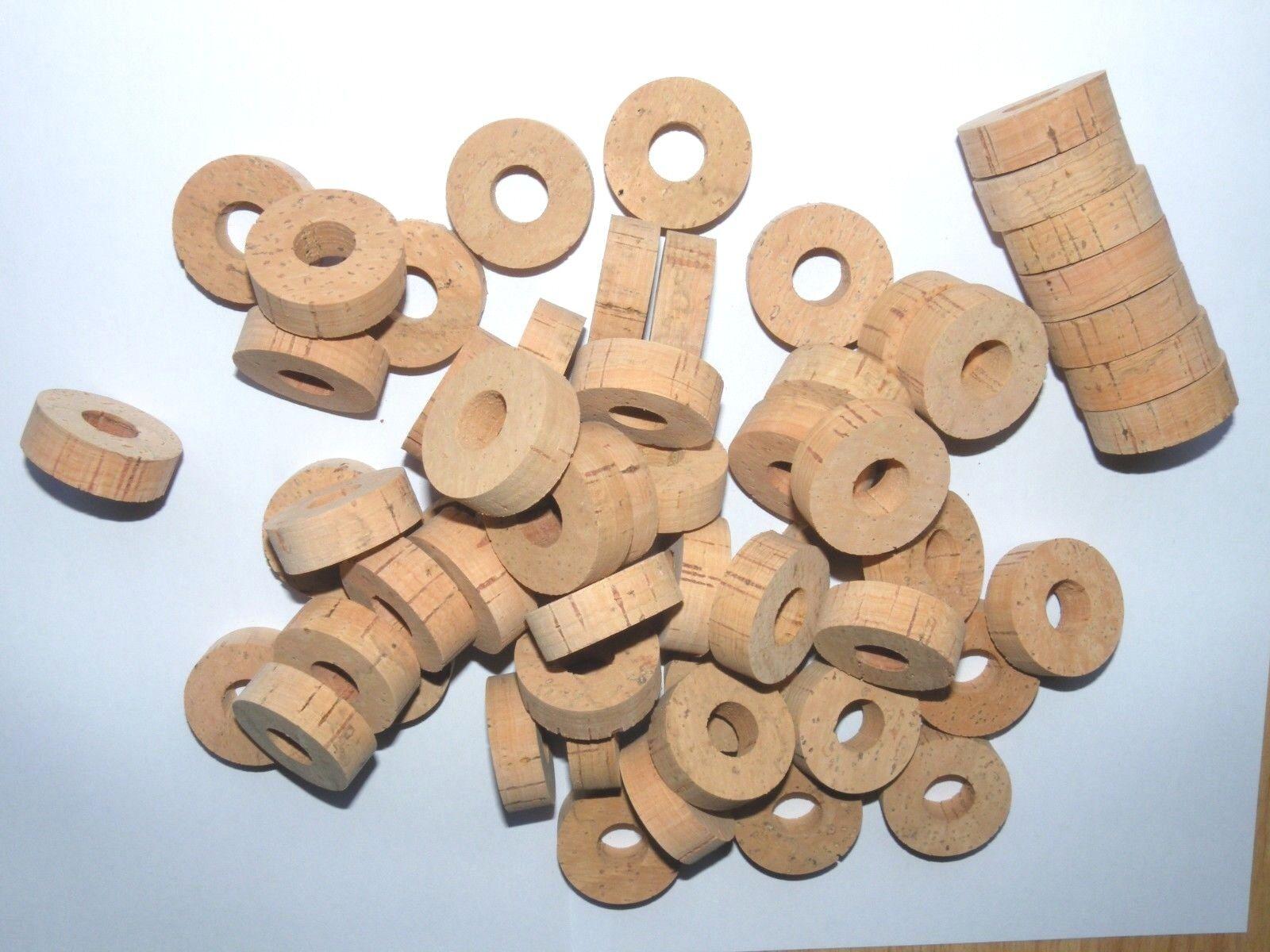100 Anillos de corcho 1 1 2  orificio X1 2  5 8  Grado A