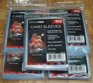 500-ULTRA-PRO-Soft-CARD-SLEEVES-NEW-No-PVC-Penny-Sleeve-Sports-Trading-Baseball