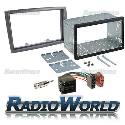 Fiat Ducato 06 to 2010 Stereo Radio Cage KIT Fascia Panel Adapter Double Din