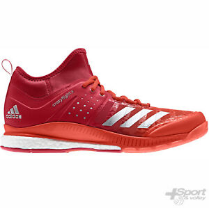 brand new f4221 e6824 Image is loading Chaussure-volleyball-Adidas-CrazyFlight-X-Mid-Man-BY2444