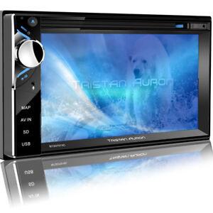 Autoradio-mit-Navi-Navigation-Bluetooth-Touchscreen-DAB-DVD-USB-2-DIN-GPS-MP3