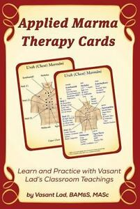 Applied-Marma-Therapy-Cards-Paperback-by-Lad-Vasant-Like-New-Used-Free-sh