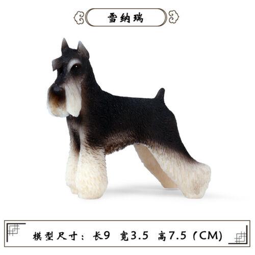 Bulldog Bully Pitbull Corgi Shepherd Dog Pet Animal Model Toy Collector Kid Gift