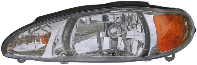 For Ford Escort Mercury Tracer Front Driver Left Halogen Headlight Assy Dorman