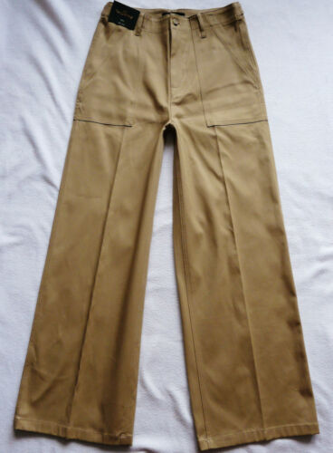 BNWT NEXT high rise camel beige Tailored Wide leg office smart work trousers R//L