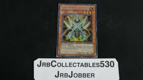 Yu-Gi-Oh XX-SABER EMMERSBLADE ABPF-EN081 1ST SECRET X1 JOBBER