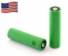 2x GENUINE SONY US18650VTC4 2100mAh 30A IMR HighDrain Rechargeable Liion Battery