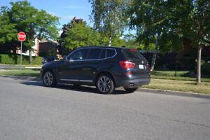 BMW X3 XDrive 2015 99k Black & Black interior. Excellent