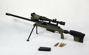 Details about Miniature 1/6 scale modern military Armed Forces TAC 50 cal  sniper rifle gun MIB