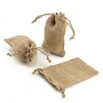 4 x 6 Burlap Bags With Draw Strings - Pack of 50 Bags Party Favor Wedding Shower