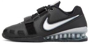 Nike Romaleos 2 Wmns Haltérophilie Chaussures Entraînement Fitness Bottes OLIMPIC-Noir