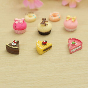 8x-Bakery-Kitchen-Food-Cake-Donuts-Cupcake-For-1-12-Dollhouse-Miniature-Gift